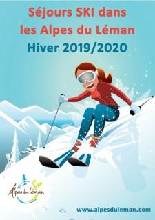 Flyer séjours ski hiver 2019-2020