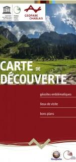 Carte Géopark du Chablais