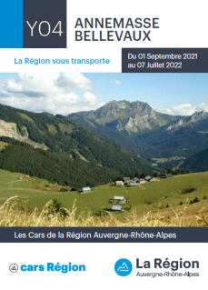 Horaires cars SAT ligne 112 - Annemasse/Habère-Poche/Bellevaux