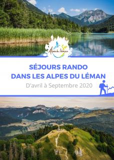 Flyer Séjours Rando 2020