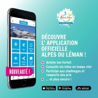 Application Alpes du Léman