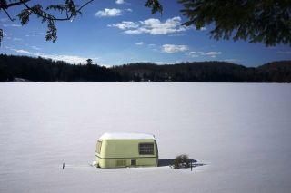 Camper van facilities area