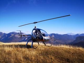 Baptêmes en hélicoptère
