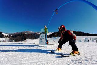 Playful skiing area