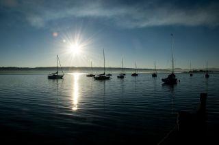 Le Lac Léman en bateau