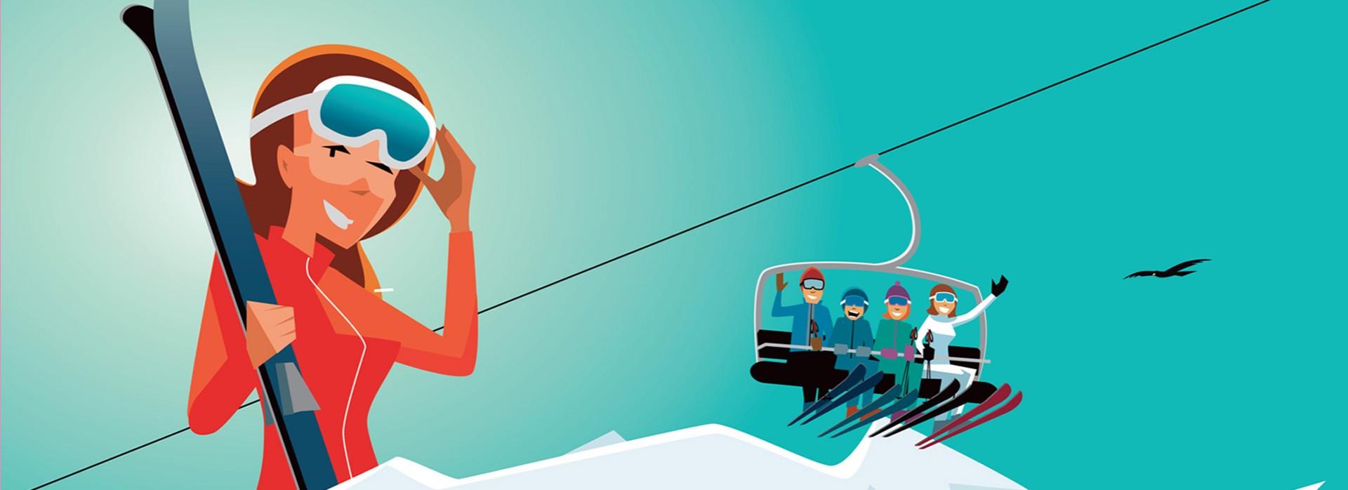 alpes du leman accueil hiver