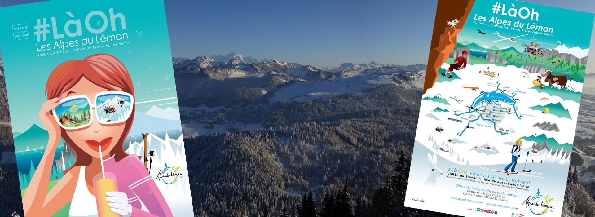 Brochure Guide touristique hebergement 2019-2020 hiver Alpes du Léman