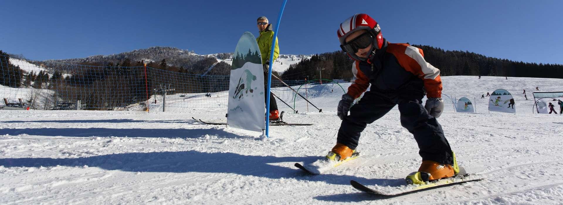 Espace ludique ski Haute-Savoie