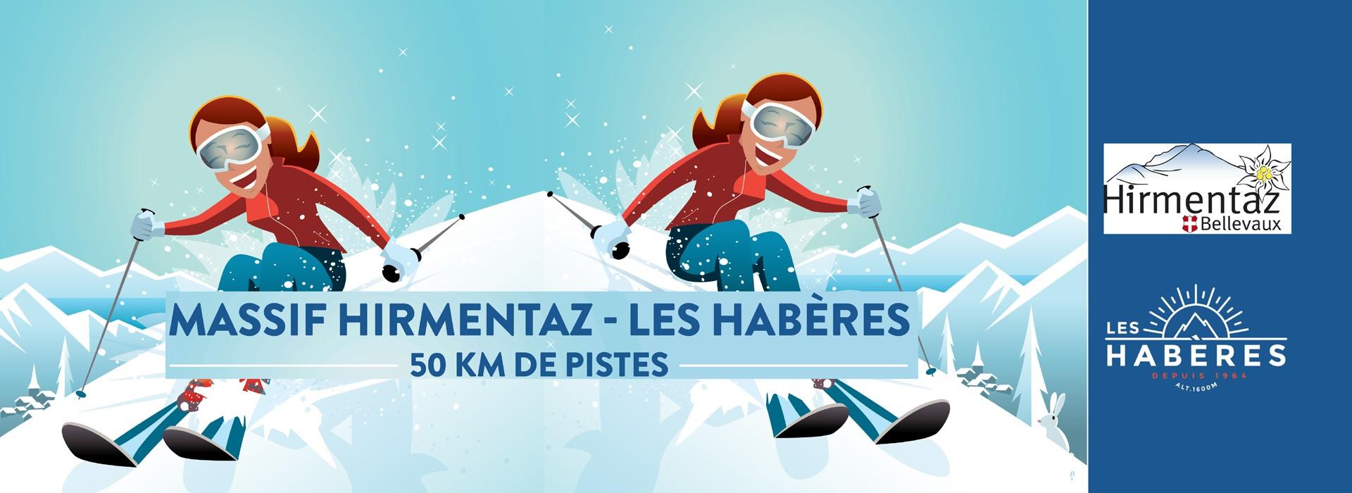 Forfaits ski achat en ligne Hirmentaz-LesHaberes