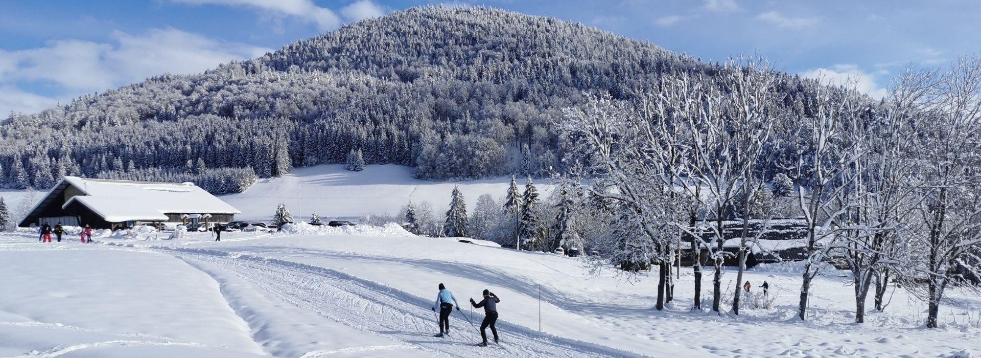 Ouverture des sites de ski nordique