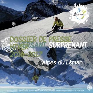 Dossier presse hiver16-17 alpes du léman