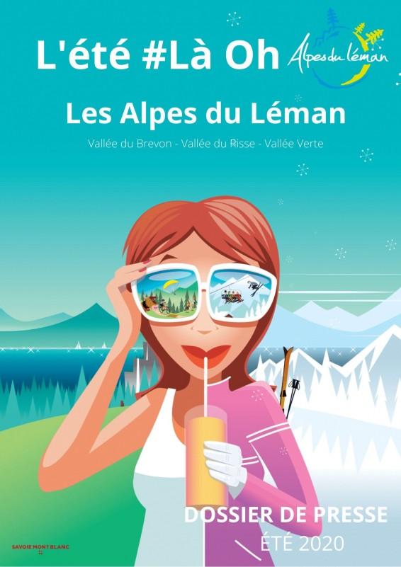 Dossier de Presse  ETE 2020 - Alpes du Leman