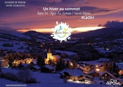 Dossier de Presse hiver 2018-2019 Alpes du Léman