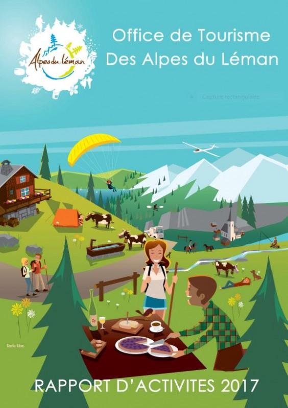 Rapport d'activités 2017 OT Alpes du Léman