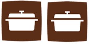 2 cocottes