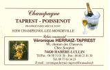 Champagne Taprest - Poissenot