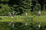 Balade en famille lac de la Crossetaz