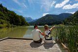 Lac de Vallon Bellevaux La Chèvrerie