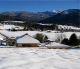 megevette village winter