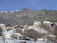 reyvroz-hiver-village vallee du brevon