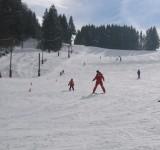 Cours de ski au Stade de Neige du Col du Feu
