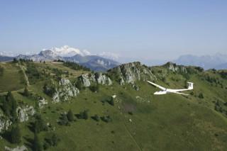 Vol de préformation en planeur Habère-Poche Vallée Verte
