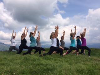 Yoga et Rando dans les Alpes du Léman