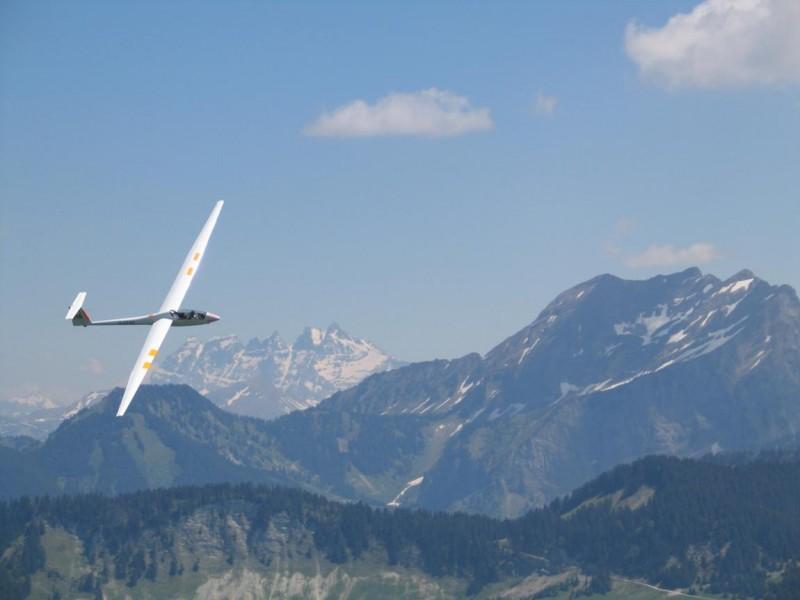 Vol de découverte en planeur Habère-Poche Vallée Verte